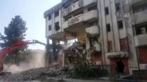 KıRıM - Düzce'de Bina Yıkımı