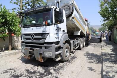 Erzincan Belediyesi Asfalt Çalışmalarına Tam Gaz Devam Ediyor