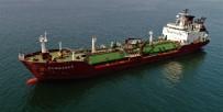 MOĞOLISTAN - Kuru Yük Gemisiyle Çarpışan LPG Tankeri Havadan Görüntülendi