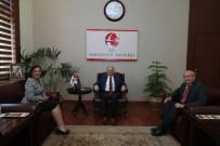 OLGUNLUK - Milletvekilleri Çakırözer Ve Süllü, Vali Çakacak'ı Makamında Ziyaret Etti