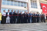 İSMET YıLMAZ - Milli Eğitim Bakanı Yılmaz Açılış Yaptı, Temel Attı