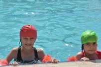 Nusaybinli Çocuklar Yüzme Öğreniyor