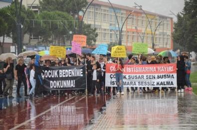 Ordu'da 'Çocuk İstismarına Hayır' Yürüyüşü
