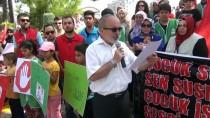 SARıCAN - Osmaniye'de Çocuk İstismarına Tepki Yürüyüşü