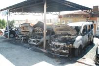 EFES - Oto Galericiler Sitesi'nde Yangın