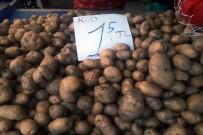 PAZAR ESNAFI - Patates Ve Soğan Fiyatlarında Düşüş