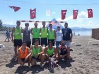 HENTBOL - Plaj Hentbolu Şampiyonu Akdeniz Üniversitesi