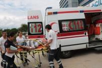ZİNCİRLEME KAZA - Samsun'da Zincirleme Kaza Açıklaması 3 Yaralı