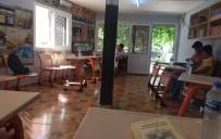 EFLATUN - Şehidin Adına Kütüphane Açıldı