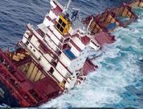 MARMARA DENIZI - Sivriada açıklarında gemi kazası