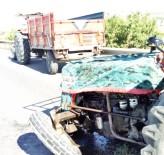 Sungurlu'da Traktörler Çarpıştı Açıklaması 3 Yaralı