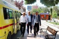 MİNİBÜSÇÜ - Tamer, Minibüsçü Esnafının Sorunlarını Dinledi