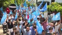 ALPEREN OCAKLARı - Urumçi Katliamı, 9. Yılında Protesto Edildi
