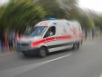 MIYASE - Yolcu otobüsü ile otomobil çarpıştı! 2 ölü, 1 yaralı