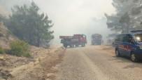 OYMAPıNAR - Antalya'da Orman Yangını  (1)