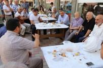 PAZAR ESNAFI - Başkan Kılıç, Yün Pazarı Esnafının Sorunlarını Dinledi