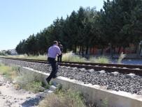 ŞIRINEVLER - Burdur'da Trenin Çarptığı Yaya Ağır Yaralandı