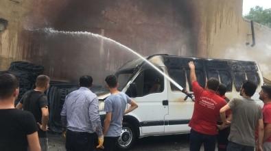 Erzincan'da Yangın