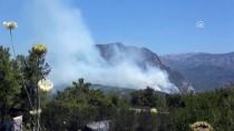 OYMAPıNAR - GÜNCELLEME - Antalya'da Orman Yangını