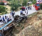 KIRAÇ - Kahramanmaraş'ta Trafik Kazası Açıklaması 1 Yaralı