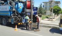 KAZIM KARABEKİR - Kanalizasyon Hatlarının Temizliği Yapılmaya Başlandı