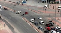 ÇEÇENISTAN - Trafik magandaları polisten kaçamadı