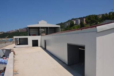 Kozlu Su Sporları Merkezi İnşaatını İncelediler