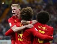 Neymarlı Brezilya Dünya kupasına veda etti! Belçika yarı finalde