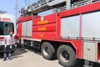SEYRANTEPE - TEİAŞ Binasında Yangın Paniğe Neden Oldu