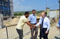 MEHMET CEYLAN - Tekirdağ Valisi Şarköy'de Yatırımları İnceledi
