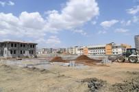Yeni Mahalle Bilgi Evi İnşaatı Hızla İlerliyor