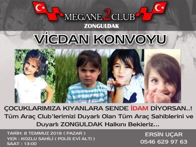 Zonguldak'ta 'Vicdan' Konvoyu Düzenlenecek