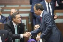 GRUP TOPLANTISI - AK Parti'nin Yeni Milletvekilleri Grup Toplantısı Öncesi Birbirlerini Tebrik Etti