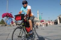 DİN KÜLTÜRÜ VE AHLAK BİLGİSİ - Alanya'dan Sultan Alaaddin'i Anmak İçin Bisikletle Konya'ya Geldi