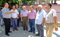 KONUKLU - Başkan Özakcan, Zeytinköy Sakinleriyle Bir Araya Geldi