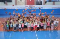 Basketbol Öğrenmek İsteyen Çocuklar Basketbol Kursuna Akın Etti