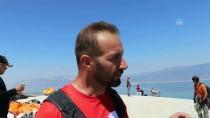 Burdur Gölü Kıyısında Yamaç Paraşütü Keyfi