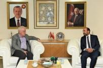 Edebali Bursaspor Yönetimini Ağırladı