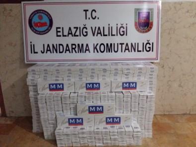Elazığ'da 3 Bin Paket  Kaçak Sigara Ele Geçirildi