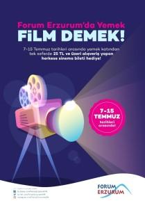 Forum Erzurum'da Yemek Demek, Film Demek