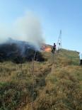 İTFAİYE ARACI - Genç İlçesindeki Yangın Korkuttu