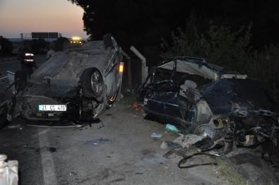 Kamyon Kırmızı Işıkta Araçları Biçti Açıklaması 1 Ölü, 18 Yaralı