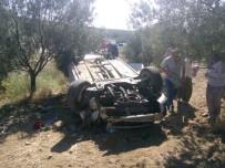 Kontrolden Çıkan Araç Tarlaya Uçtu Açıklaması 7 Yaralı