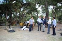 MİMAR SİNAN - Mimar Sinan Parkı'na Aydınlatma Ve Peyzaj Çalışması