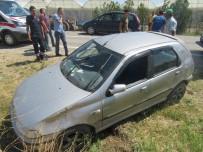 Sandıklı'da Trafik Kazası Açıklaması 1 Yaralı