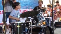 PERKÜSYON - Spor Etkinliklerinde Mars Grubu Konser Verdi