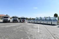 SAĞLIKLI HAYAT - Yeşilyurt Belediyesi 577 Galvanizli Çöp Konteynırı Aldı