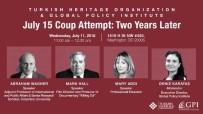 SÖZLEŞMELİ - 15 Temmuz Hain Darbe Girişiminin Yıl Dönümünde ABD'de Önemli Panel