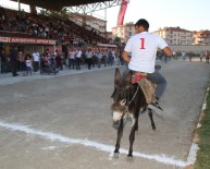 AKŞEHİR BELEDİYESİ - Akşehir'de Eşeğe Binme Ve En Güzel Gözlü Eşek Yarışları Yapıldı