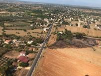 ODABAŞı - Antalya'da Arazi Yangını